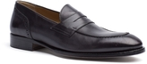 Tommy Hilfiger Tailored Collection Perforated Leather Loafer