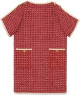 Gucci Square G wool tunic dress
