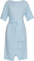 Osman Hemera wool-crepe dress