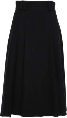 RED Valentino Wool-blend Felt Midi Skirt