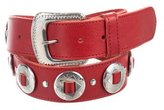 Zadig & Voltaire Leather Embellished Belt w/ Tags
