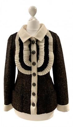 Chanel Brown Tweed Jackets