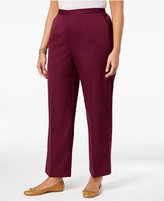 Alfred Dunner Plus Size Sierra Madre Collection Pull-On Straight-Leg Pants