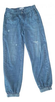 Rag & Bone Blue Cloth Trousers