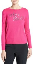 Kate Spade Women's Who Moi Sequin Wool Blend Sweater