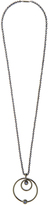 Eddie Borgo Voyager gunmetal-plated necklace