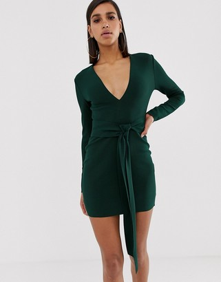 Bec & Bridge valentine long sleeve mini dress