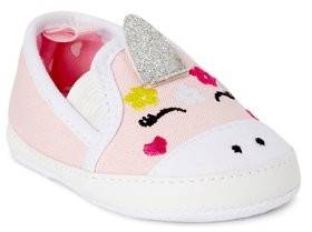 First Steps by Stepping Stones Unicorn Baby Crib Shoes (Infant Girls)