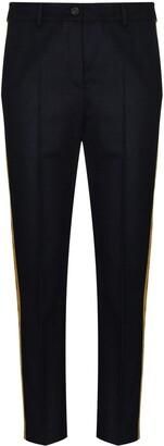 Golden Goose Algisa side-stripe trousers