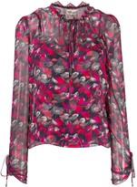 Diane von Furstenberg Lilian floral print blouse