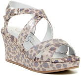 Jessica Simpson Delphi Platform Wedge Sandal (Little Kid & Big Kid)