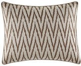 Tommy Bahama Sandy Coast Ikat-Embroidered Pillow