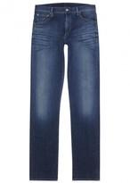 Citizens Of Humanity Mod Blue Slim-leg Jeans