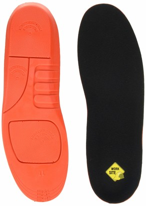 Worksite Unisex-Adult Moulded Sport Insole Black Small