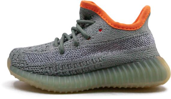 Yeezy Boost 350 V2 Infant 'Desert Sage' Shoes - Size 6.5K