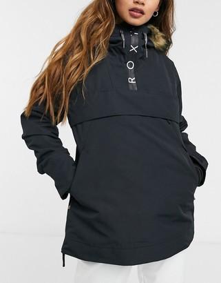 Roxy Shelter ski jacket in black