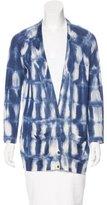 Piazza Sempione Printed Knit Cardigan