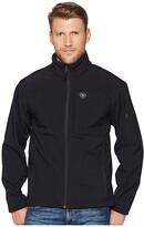 Ariat Vernon 2.0 Softshell Jacket (Black) Men's Coat