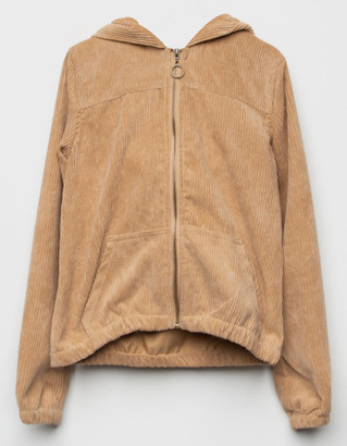 WHITE FAWN Corduroy Girls Jacket