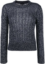 Rag & Bone cable knit jumper - women - Cotton/Rayon - S