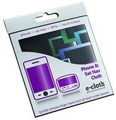 E-cloth Phone and Sat-Nav Cloth, Microfibre, Black