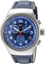 Swatch Men's YOS449 Analog Display Quartz Blue Watch