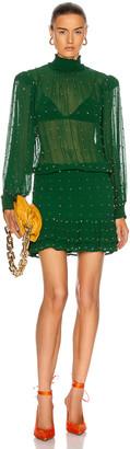 retrofete Hedy Dress in Green | FWRD