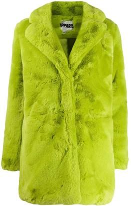 Apparis neon fur coat