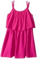 Polo Ralph Lauren Cotton Solid Dress Girl's Dress