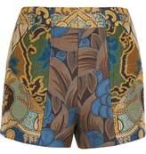 Etro Patchwork Jacquard Shorts