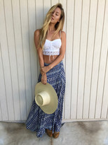 Tysa Wrap Skirt In Provence