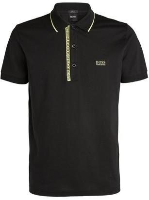 BOSS Digital Logo Polo Shirt