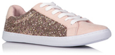 George Glitter Effect Lace-up Trainers