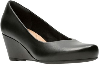 Clarks Flores Tulip Wedge - Wide Width Available