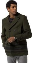 Tommy Hilfiger Stripe Pea Coat