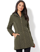 New York & Co. Quilted Anorak