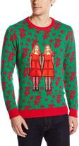 Blizzard Bay Men's Terrifying Twins Ugly Christmas Sweater