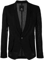 Tom Rebl shawl lapel blazer - men - Cotton/Linen/Flax/Spandex/Elastane/Polyester Taffeta - 48