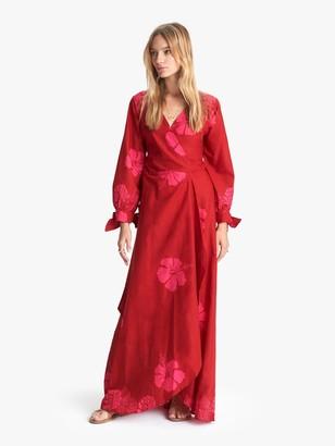 Natalie Martin Danika Dress - Hibiscus Dragonfruit Batik
