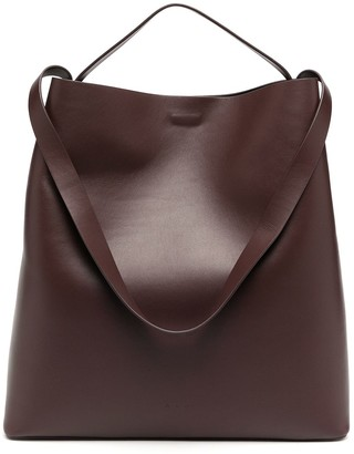 Aesther Ekme Large Leather Single Handle Tote
