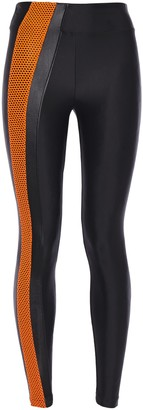 Koral Teazer High Rise Energy Mesh-trimmed Stretch Leggings