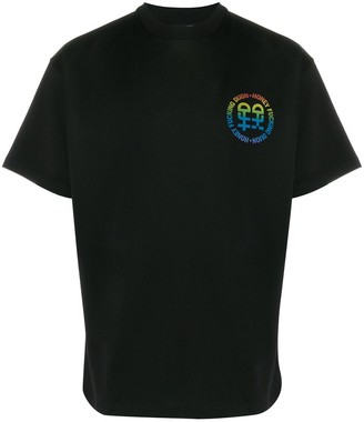 Honey Fucking Dijon short sleeve printed logo T-shirt