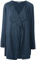Hemisphere flared jacket - women - Cotton/Cashmere - XS