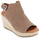 Gentle Souls Katie Nubuk Espadrille Wedge Sandals