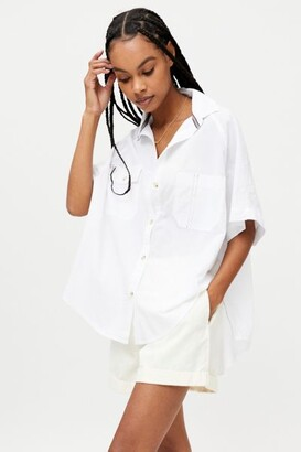 BDG Rory Oversized Button-Down Shirt
