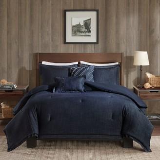 Woolrich Perry Oversized Denim Comforter Set