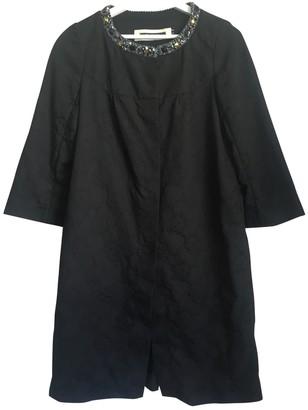 Tara Jarmon Black Cotton Coat for Women