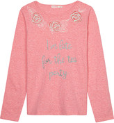 Billieblush Billie Blush Late For The Party cotton long-sleeved top 4-12 years