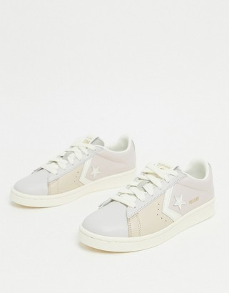 Converse Pro Leather pastel trainers