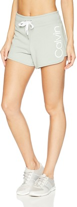 Calvin Klein CALVINKLEIN Women's Logo Terry Short
